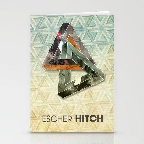 escher hitch Stationery Card