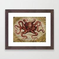 ä Octopus  Framed Art Print
