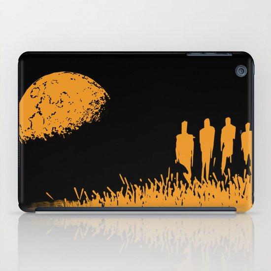 """New Moon"" by Justin Hopkins (Black Version) iPad Case"
