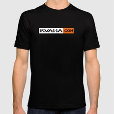 kuassa blok Black Mens Fitted Tee SMALL