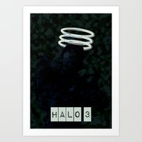 Halo 3 Art Print