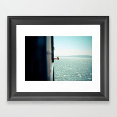 Staten Island Ferry  Framed Art Print