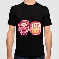 I'm Into Punk Mens Fitted Tee Black SMALL