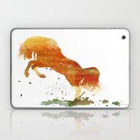 HORSES -Wild mountain pony Laptop & iPad Skin