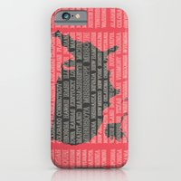 50 States Of America iPhone 6 Slim Case
