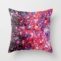 WRAPPED IN STARLIGHT Bol… Throw Pillow