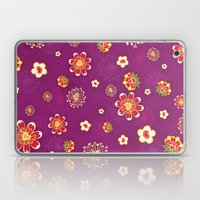 Purple Burst Laptop & iPad Skin