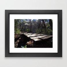 Walking Through My Dream… Framed Art Print