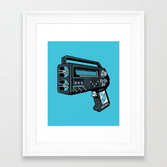 GHETTOBLASTER3000 Framed Art Print