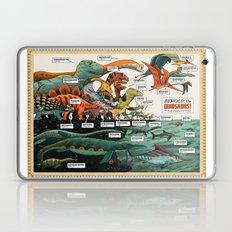 BEHOLD! THE DINOSAURS!  Laptop & iPad Skin