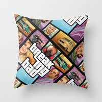 Breaking Bad: GTA  Throw Pillow