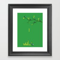 Amazon Addiction Framed Art Print