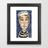 Dreams's Sailor Framed Art Print