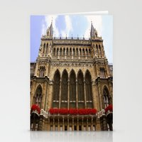 Building in Vienna Stationery Cards