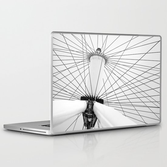 Big Wheel Laptop & iPad Skin