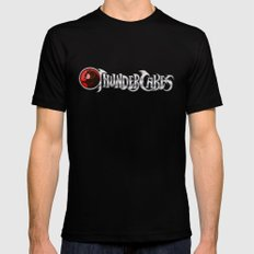 Thundercakes Mens Fitted Tee Black SMALL
