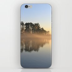 Misty Lake in Color iPhone & iPod Skin