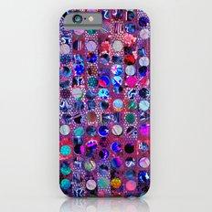 Bright polka dot. Slim Case iPhone 6s