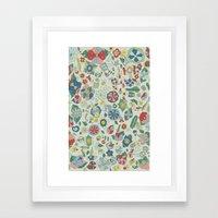 Frutos Framed Art Print