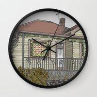 House 04 Wall Clock