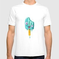 Melty Popsicle Mens Fitted Tee White SMALL