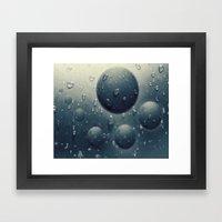 Spheric Framed Art Print