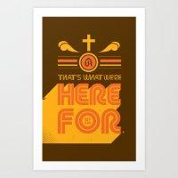 1st Gen UR Tees Art Print