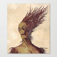The Woodman Canvas Print