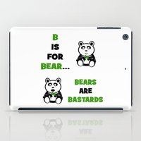 B is For Bear iPad Case