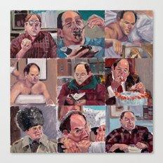 9 shades of Costanzas Canvas Print