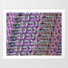 Pattern Test II-C Art Print