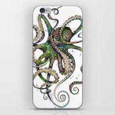 Octopsychedelia iPhone & iPod Skin