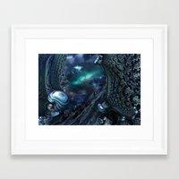 Andromeda Strain Framed Art Print