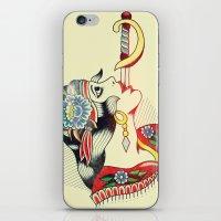 Sword Magic Girl iPhone & iPod Skin
