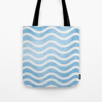 Waves. Tote Bag