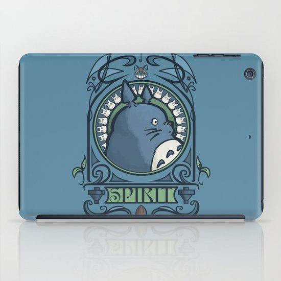 Forest Spirit Nouveau iPad Case