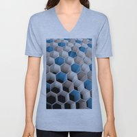 Honeycomb Unisex V-Neck