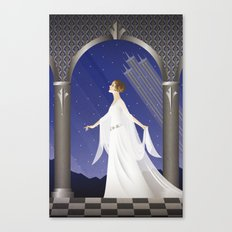 Deco Leia (12x18) Canvas Print
