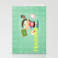 teacher Stationery Cards