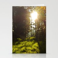 Morning Atmosphere Stationery Cards