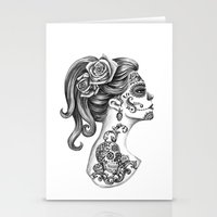 Day Of The Dead Girl Stationery Cards