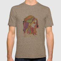 Big Hair Day Mens Fitted Tee Tri-Coffee SMALL