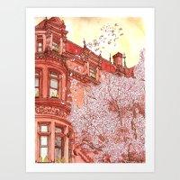 Bostonia Art Print