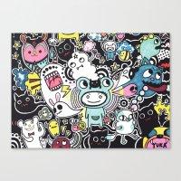 Adventure Remix Canvas Print
