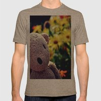 Palin Bear Mens Fitted Tee Tri-Coffee SMALL