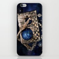 Aqua Space iPhone & iPod Skin