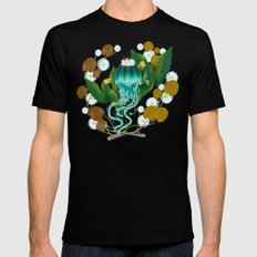 pitigüey SMALL Mens Fitted Tee Black