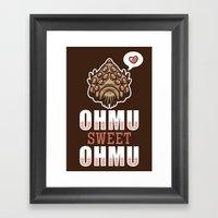 Ohmu Sweet Ohmu Framed Art Print