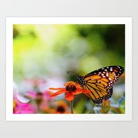 Dreams in Color and Light Art Print