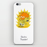 Electric Thunder! iPhone & iPod Skin